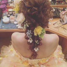 ・ bridal hair ・ ・ ・ #プレ花嫁 #ブライダルヘア #hair #updo