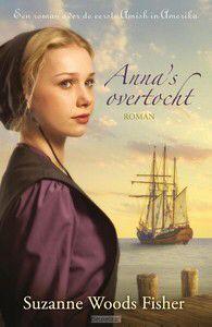 1/52 #boekperweek  'Anna's overtocht' van Suzanne Woods Fisher is het eerste deel in een nieuwe serie over het begin van de Amish, een behoudende geloofsgemeenschap in de Verenigde Staten. Duitsland, 1737. De Duitse Anna König wordt uitgekozen om de oversteek naar Amerika te maken. Aan boord van het schip ontmoet ze Bairn, de scheepstimmerman. De koppige Bairn vindt Anna en haar gezelschap maar naïeve boeren, totdat een serie gebeurtenissen hen, en vooral Anna, in een ander licht stelt.