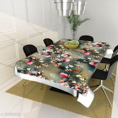Checkout this latest Table Cover Product Name: *Home Trends dining table cover 4 seater square ( 40x60 Inches )* Material: PVC Pack: Pack of 1 Pattern: Printed Length: 60 Inch Breadth: 40 Inch Height: 2 Inch Country of Origin: India Easy Returns Available In Case Of Any Issue   Catalog Rating: ★3.9 (325)  Catalog Name: Stylo Table Cover CatalogID_1978839 C129-SC1637 Code: 562-10756898-075