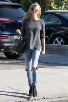 Heidi Klum Photos: Heidi Klum Stops by the Salon