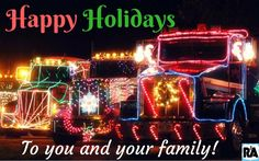 Happy Holidays! From our family to yours!