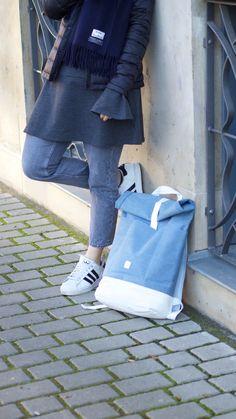 Ucon Acrobatics, Daunenjacke, Acne Schal, Skandi, Scandi, Streetstyle, Outfit, Trompetenärmel, Etsy Schmuck