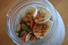 Banana & Chia Seed Power Pudding