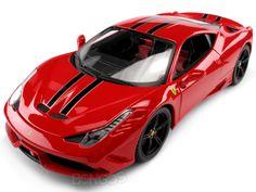 "Ferrari Speciale ""Signature Series"" 1:18 Scale - Bburago Diecast Model (Red/Black)  #ferrari #diecast #118scale #supercars #scuderiaferrari #458 #F430 #italia #laferrari"