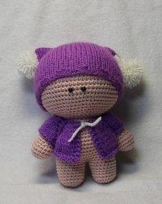 схемы игрушек вязаные куклы амигуруми малыш йо-йо описание