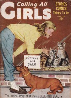 Calling All Girls, April 1959