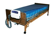 Product Description The Med-Aire Low Air Loss Alternating Pressure Mattress Replacement System by Drive Medical is designed to be used in the prevention, treatment and management of Pressure Ulcers. The mattress operates in an alternating pressure mode a Bed Sores, Pressure Ulcer, Best Hospitals, Hospital Bed, Bed Reviews, Beds For Sale, Adjustable Beds, Foam Mattress, Sleeper Sofa