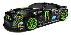 #111664 hpi e10 drift monster #energy ford mustang body 4wd #electric rc car rtr, View more on the LINK: http://www.zeppy.io/product/gb/2/152125988064/