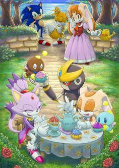 Tea Party | Sonic the Hedgehog | Know Your Meme