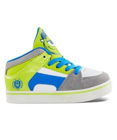 Take a look at this Green & White Monsters University RVM Sneaker on zulily today!