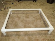 pvc dog cot tutorial, diy, how to, pets animals, repurposing upcycling