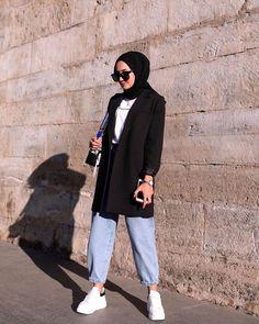 Modest Fashion Hijab, Modern Hijab Fashion, Street Hijab Fashion, Hijab Casual, Modesty Fashion, Hijab Style, Hijab Fashion Inspiration, Muslim Fashion, Islamic Fashion