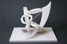 デザイン・工芸科|参考作品 Concept Models Architecture, Landscape Architecture Drawing, Architecture Design, Cardboard Sculpture, Math Art, Shape Art, A Level Art, Outdoor Sculpture, 3d Prints