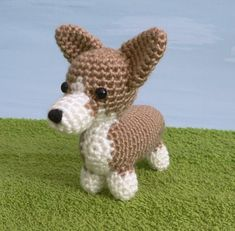 AmiDogs Corgi amigurumi dog PDF CROCHET PATTERN | planetjune - Patterns on ArtFire