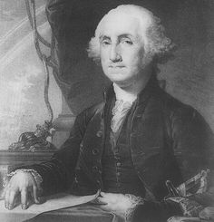 George Washington (1789-1797) is my favorite president and one my favorite people...ever!