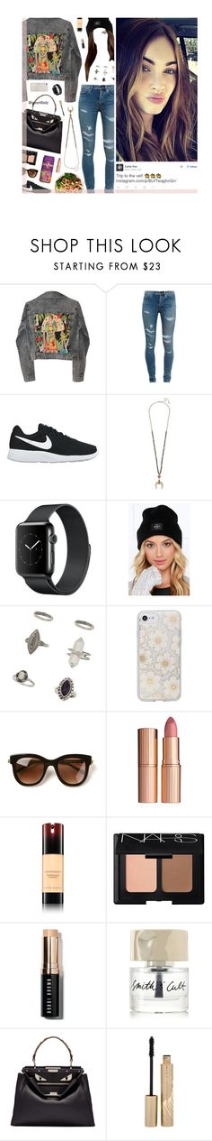 """""""Jun 6, 2017 - Trip to the Vet"""" by queerlillady ❤ liked on Polyvore featuring GALA, Yves Saint Laurent, NIKE, OBEY Clothing, Miss Selfridge, Sonix, Thierry Lasry, Charlotte Tilbury, Kevyn Aucoin and NARS Cosmetics"""