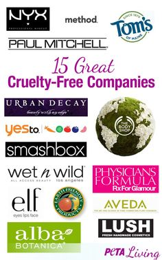 Beauty companies that DON'T test on animals! ❤️