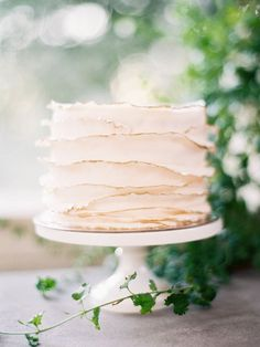 sweet little cake with thin layered frosting. | photo Jen Huang
