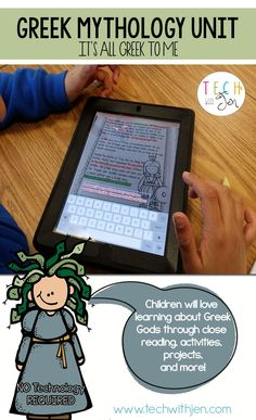 Children will love learning about Greek Gods through close reading, activities, projects, and more! $