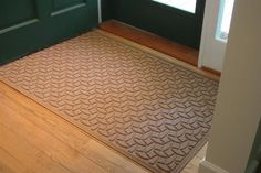 48 in. L x 72 in. W Medium Brown Waterguard Ellipse Mat (Charcoal) by Bungalow. $103.83. Ellipse design traps dirt, resists fading, rot and mildew. 48 in. L x 72 in. W x 0.5 in. H. Indoor and outdoor use. Color: Charcoal. Ellipse design traps dirt, resists fading, rot and mildew . Indoor and outdoor use . 48 in. L x 72 in. W x 0.5 in. H. Save 33%!