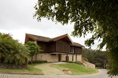 Casa na Colina / Architectare