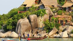 Suratthani, Thailand, Koh Tao Cabana