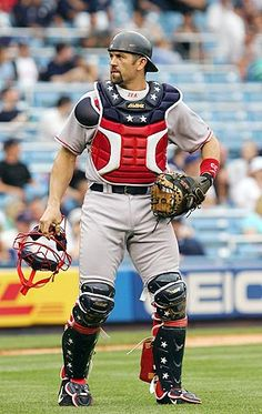 """Competitive Opposition: Jason Andrew Varitek, nicknamed 'Tek', is a retired American Major League Baseball catcher for the Boston Red Sox. He currently works for the club as a """"Special Assistant to the General Manager."""""""