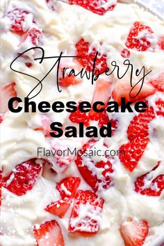 cookie salad This Strawberry Cheesecake Salad is like a strawberry cheesecake in a bowl and makes a delicious and easy no bake dessert. Jello Recipes, Fruit Salad Recipes, Cheesecake Recipes, Fruit Salads, Cheesecake Bites, Jello Salads, Pumpkin Cheesecake, Strawberry Banana Cheesecake Salad, Strawberry Desserts