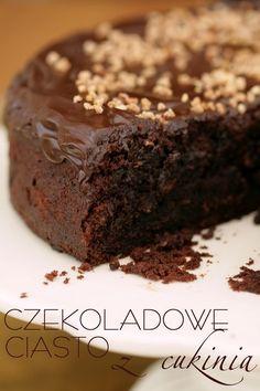 Moje Wypieki | Ciasto czekoladowe z cukinią