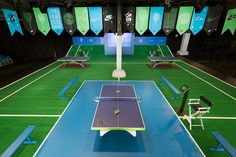Nike - The Open at Moynihan Table Tennis Tournament, Gaming Lounge, Basketball Court, Soccer, Tennis World, Tech Pack, Football, Exhibition Space, Experiential