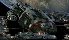 BS Hyades - 6 engine, wide base Minerva, (tier by