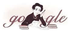 HANNAH ARENDT GETS A GOOGLE DOODLE OCTOBER 14, 2014  Today is Hannah Arendt's birthday, and Google has modified their homepage in select countries to celebrate the occasion.
