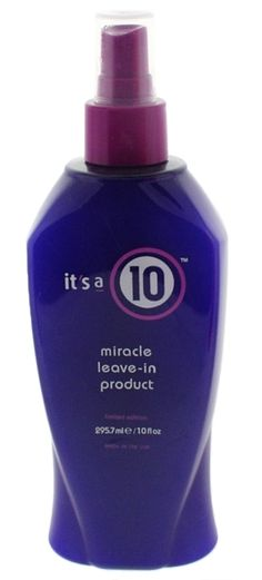 It's a 10  best stuff ever!! I don't use any other product in my hair. It makes it so smooth and soft and helps heal split ends and a lot more!