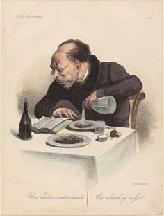 The reader, by Daumier
