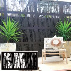 Outdeco® Gardenscreen™ Bungalow™The Block Shop - Channel 9