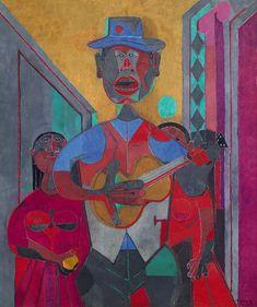 El Trovador by Rufino Tamayo, 1945