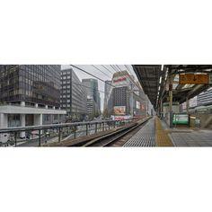Railway station Yurakucho Station Chiyoda Tokyo Japan Canvas Art - Panoramic Images (36 x 12)