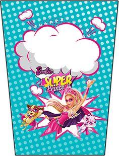 Bisnaga Flip Top Barbie Super Princesa
