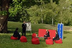 Visit London's Outdoor Office 12 by cake.group, via Flickr