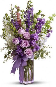 Teleflora's Pretty in Purple Bouquet.