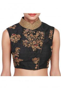 latest saree blouse designs for silk sarees - Google Search