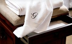 Groupon - Egyptian-Cotton Monogrammed Towel Sets (Up to 84% Off). Multiple Options Available. Free Shipping. in Online Deal. Groupon deal price: $44.0.00
