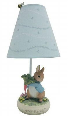 Beatrix Potter Peter Rabbit Table Lamp New Baby Boy Rooms, Baby Boy Nurseries, Baby Room, Nursery Themes, Nursery Decor, Nursery Ideas, Nursery Furniture, Nursery Bedding, Beatrix Potter Nursery