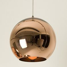 Kitchen island x 2 -  Mini Globe Pendant, 1 Light, Minimalist Metal Glass Electroplating – USD $ 69.99