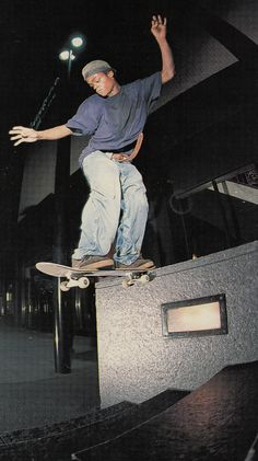 Harold Hunter by Ryan Gee. TWS February 1995.