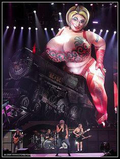 Whole lotta Rosie: AC/DC | Rosie with AC/DC in Frankfurt am … | Flickr