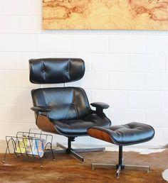 eames repair leather and wood restoration shock mount repair