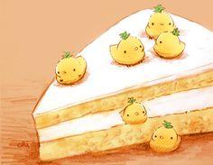 「パイナップルのショートケーキ」/「チャイ」のイラスト [pixiv]