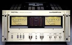 1978 Rotel RB 5000 - Power Amplifier 500wpc