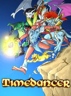 Disney Gargoyles  Timedancer fanfic cover by Rita M